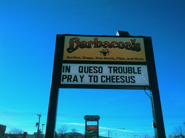In Queso Trouble